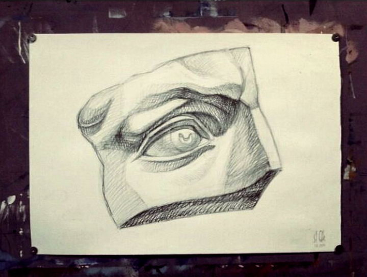 The eye of David